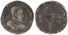 France, Kingdom, Henri II (1547-1559) Very nice Silver Teston 1560 D, Fine+