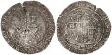 Great Britain, Kingdom, Charles I, Nice silver 1/2 Crown (1625-1649 AD), KM 114, Fine