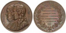 France, Kingdom, Louis-Philippe I, Bronze Medal Society Franklin and Montyon 1833, XF