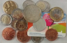 Europe, Mixed Countries, Interesting lot with for 68 Euro of Commemorative euro coins, all UNC