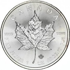 Canada, 5 Dollars Silver 2015 Maple Leaf, B.UNC