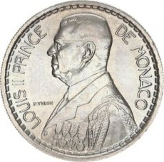 Monaco, 10 Francs Copper-Nickel 1946, KM 123, A.UNC