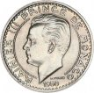 Monaco, 100 Francs Copper-Nickel 1950, KM 133, A.UNC