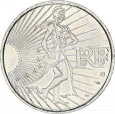 France, 10 Euro Silver 2009 Seed Sower, UNC