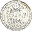 France, 10 Euro Silver 2014 French Cocq, UNC