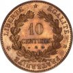 France, 10 Centimes Bronze 1878A, KM 815.1, A.UNC !